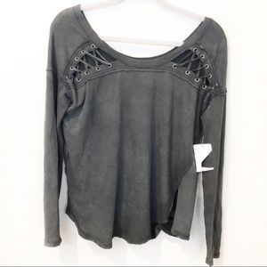 Free People /We The Free First Love Lace Up  NWT